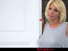 Karups - huge-titted cougar Tiffany Rousso nailed After Sauna Foreplay