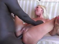 German blonde newbie mother natural tits get down and dirty backdoor with big black purple pole bbc