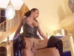 Massive Fetish Orgy with DP Anal and Chicks in Thigh High Boots