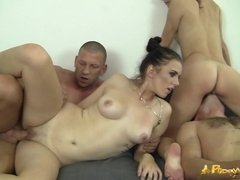 Polish Sluts Magda and Ania Group Sex