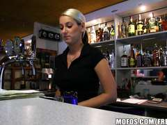 Public Pickups - TORRID Czech bartender paid for swift penetrate