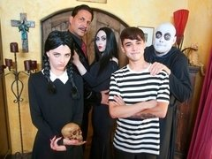 Addams Family Orgy