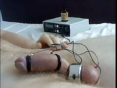 Weird orgasm with electricity