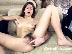 Atisha jacks and climaxes after gardening