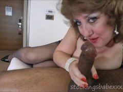 Phat Backside Ugly Mommy Nyloned Slammed - double penetration