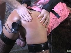 Cuffed Spanked - Sodomy Crossdresser Sex Video