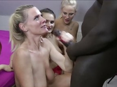 REVERSE Gang-fuck - German Anny Aurora Dirty Tina in FFFM Sex