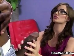 Lily Carter fucked by a Bulky Black Penis
