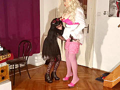 punk teen abuse & strapontear up her huge real barbi fuck lady pt1 HD