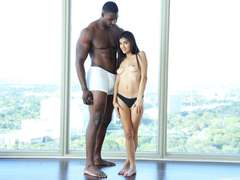 Michelle Michaels loves big black cock