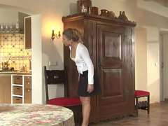 Maid Alisha Laine Interacial DOUBLE PENETRATION