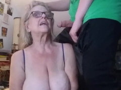 Visiting grandmother and getting a desired orgasm
