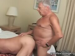 2 old guys fuck each other