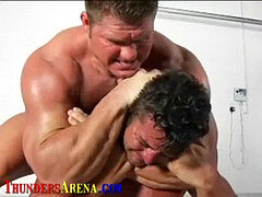 Wrestlers and Bodybuilders gasped out