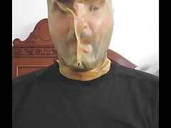 Breathplay Latex Hood