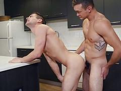 Johnny Rapid gets an anal pounding from Jackson Traynor,