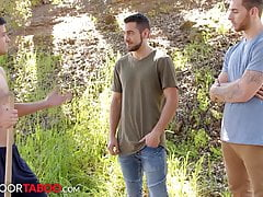 NextDoorTaboo - Step-Brothers Seduce New Neighbor