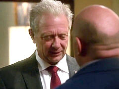 Dean Norris and Jeff Perry in Scandal