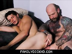 Father And Son Webcam Fuck Together
