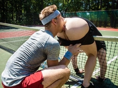 Tennis players Michael DelRay and Michael Boston fuck everywhere