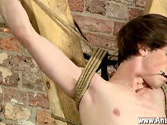 Gay slave tormentor vids fuckfest free Sebastian likes to drain the guys of