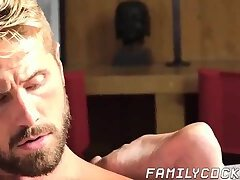 Young men are happy to raw impale their stepdad balls deep