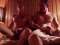 hot clip in the sauna