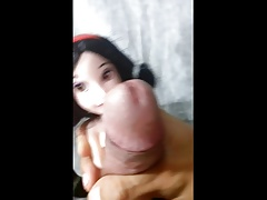 Playing and Ejaculating with Snow White Doll