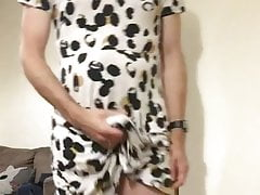 Hard in wifes dress