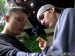 Smoking Micah Andrews loves riding Joey Perelli outdoors