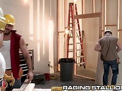 Construction Workers Haze The New Guy - RagingStallion