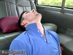Passed out boys get blowjobs from gay twinks Ass Pounding On The Baitbus