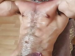 Indian hot Muscle man naked workout