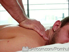GayRoom - boinked lubricated booty with Chandler Scott and Lex Ryan