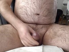 Energizing jerking off in the hand