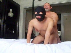 gaymanvictims.com slave in mask gets super hot booty play