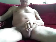 German grandpa Cum