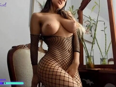 Amazing MILF with Perfect Big Boobs - Solo Video