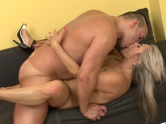 Hot MILF fucking and sucking