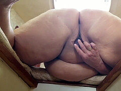 plumper pawg pleasuring Herself On Boat Berth PMV