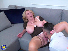 pawg mature mother gets rectal fuck-fest from boy