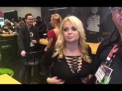 The LEGEND Jesse Jane​ with Jiggy Jaguar​ AVN Expo