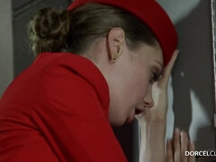 A Caring Stewardess Elena Koshka in 4K