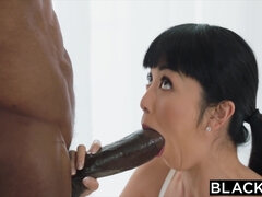 Blacked Asian Journalist vs The Thickest Big Black Cock in The World