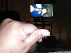 Mexican jerking to BBC bj