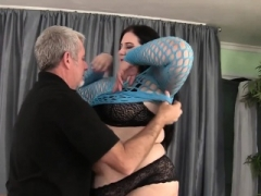Pretty Big beautiful women Becki Butterfly gets her pussy fucked nice