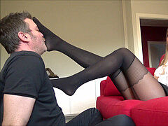 Face as a Footstool in stocking 2