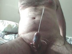 Electro Stim Sizeable Ejaculation