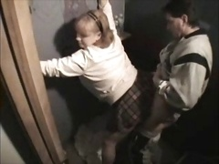eager mom at the gloryhole