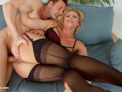 Milf Thing presents Brittany Bardot in hot MILF mature porn scene